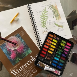 Community Art Workshop #3: Botanical Illustration photo